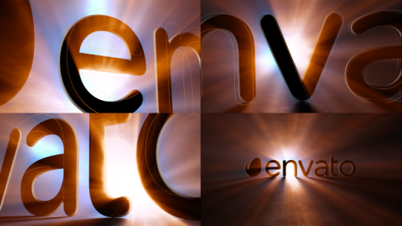 قالب آماده پروژه افترافکت لوگو dark-shine-logo
