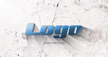 قالب آماده پروژه افترافکت لوگو light-grunge-logo