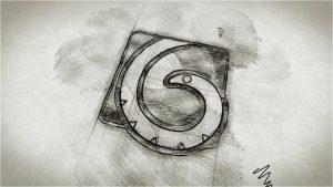 قالب آماده پروژه افترافکت لوگو sketch-ink-logo