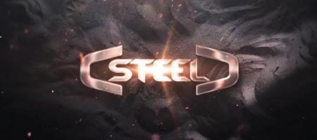 قالب آماده پروژه افترافکت لوگو steel-logo