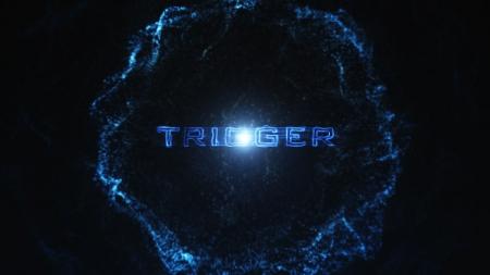 قالب آماده پروژه افترافکت لوگو trigger-particle