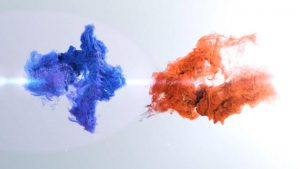 قالب آماده پروژه افترافکت لوگو vortex-particles-logo