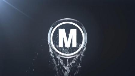 قالب آماده پروژه افترافکت لوگو water-logo