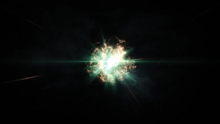 قالب آماده پروژه افترافکت لوگو energy-explosion-reveal