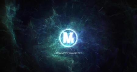 قالب آماده پروژه افترافکت لوگو nebula-energy-logo
